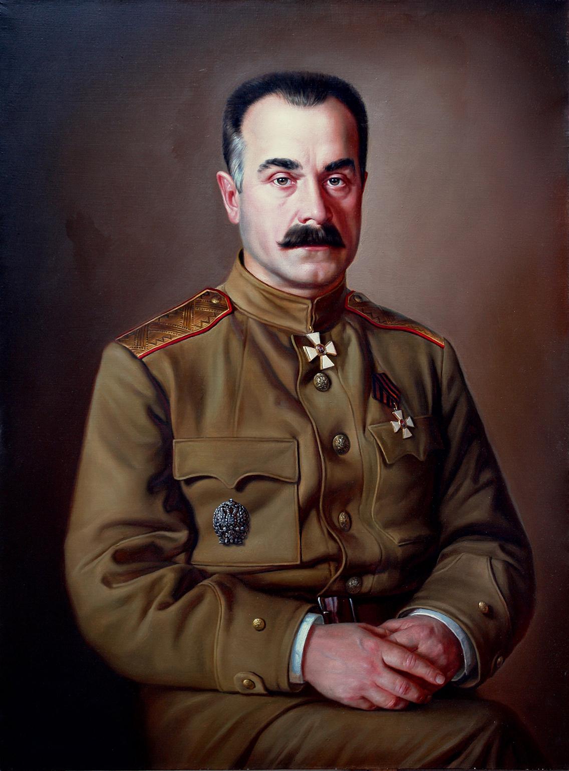 Алексей Каледин. Портрет Дмитрия Трофимова